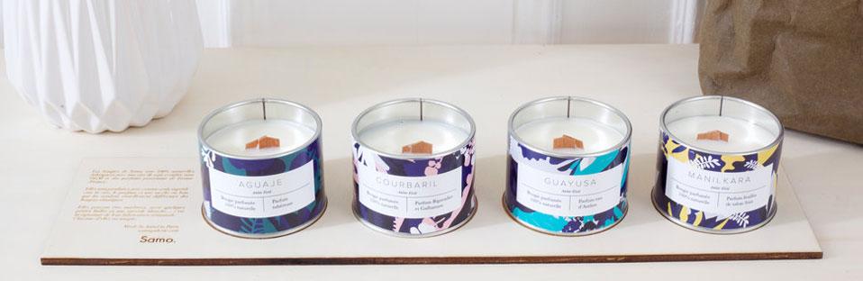 les bougies parfum es samo naturelles et artistiques. Black Bedroom Furniture Sets. Home Design Ideas