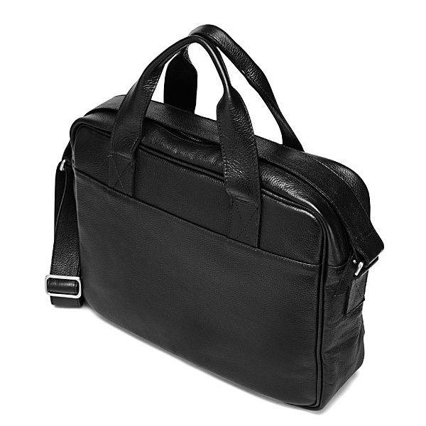 Porte document en cuir v g tal noir acacia de veja - Porte document homme luxe ...