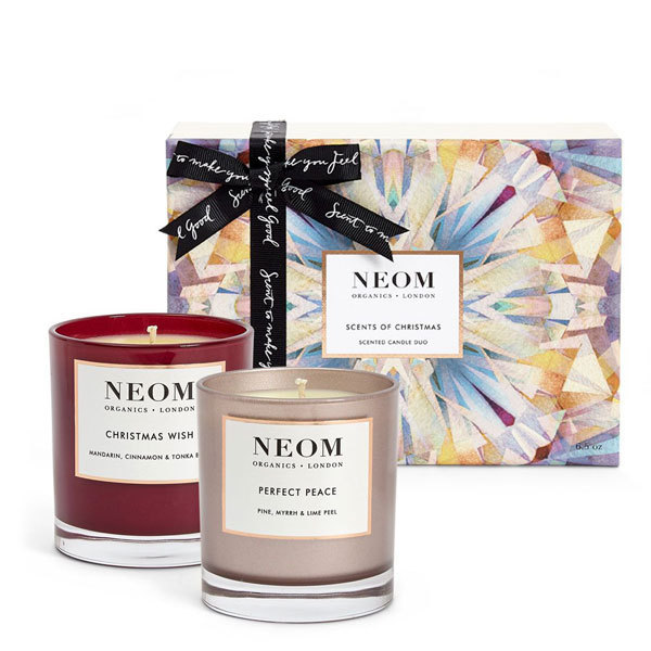 coffret cadeau no l bougies parfum es bio neom organics. Black Bedroom Furniture Sets. Home Design Ideas