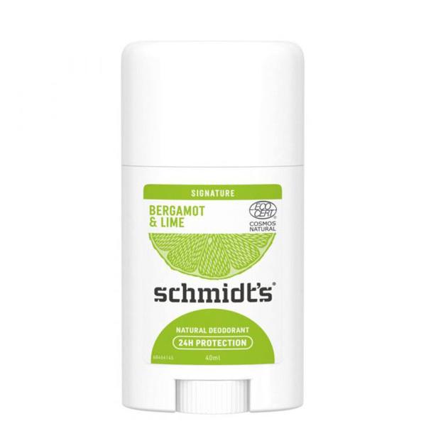 d odorant naturel en stick bergamote citron vert schmidt 39 s. Black Bedroom Furniture Sets. Home Design Ideas