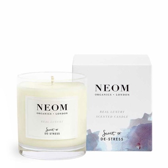 bougie parfum e bio naturelle jasmin neom luxury organics. Black Bedroom Furniture Sets. Home Design Ideas