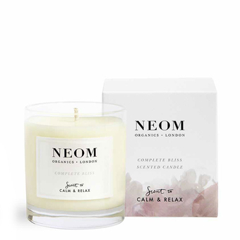 bougie parfum e bio naturelle rose neom luxury organics. Black Bedroom Furniture Sets. Home Design Ideas