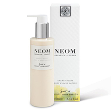 "Lotion corps ""Burst of Energy"" - Pamplemousse, Citron & Romarin - Neom Organics"