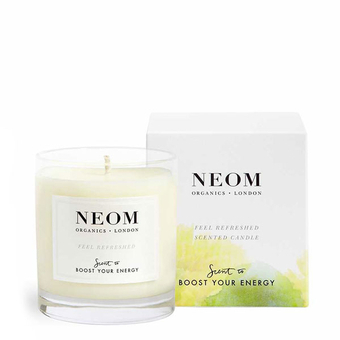 bougie parfum e bio citron basilic neom organics. Black Bedroom Furniture Sets. Home Design Ideas