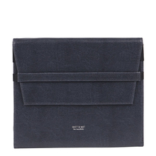 "Etui iPad Verve bleu ""midnight"" - Matt & Nat"