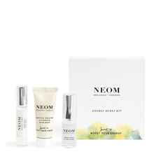 "Coffret ""Energy boosting"" - Aromathérapie contre la fatigue - Neom Organics"