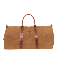 Sac Weekend Rummage Duffel - Marron Woodland - Fleabag
