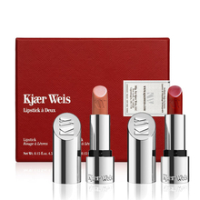 Coffret duo Rouges à lèvres - Brilliant & Red - Kjaer Weis