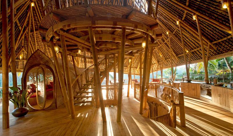 green village bali co village d architecte en bambou