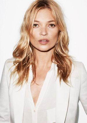 Kate Moss utilise les produits cosmétiques REN Skincare