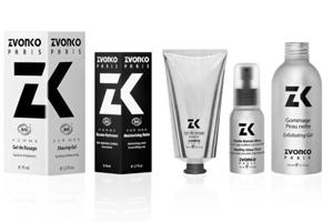 Marque de produits de soin bio pour homme Zvonko