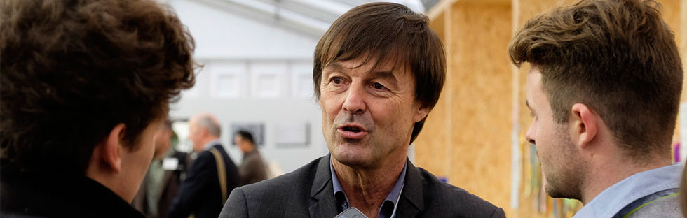 « Break the internet », le buzz de Nicolas Hulot pour la COP21