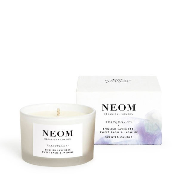 bougie parfum e bio naturelle lavande neom luxury organics. Black Bedroom Furniture Sets. Home Design Ideas