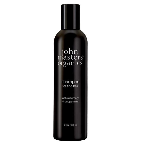 shampoing bio romarin menthe poivr e pour cheveux fins et sans volume de la marque john. Black Bedroom Furniture Sets. Home Design Ideas