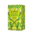 Tisane Lemongrass & Ginger - Aide à la concentration - Pukka