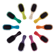 Mini brosse colorée en hêtre & nylon - Less is More