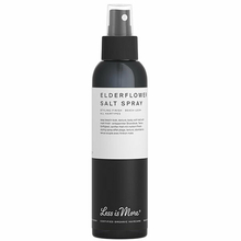 "Elderflower salt spray - Spray coiffant ""effet plage"" - Less is More"