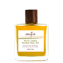 Paris~India herbal hair oil - Huile de soin pour cheveux & cuir chevelu - Daynà