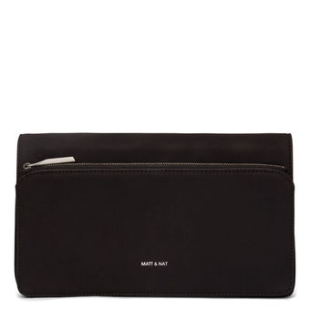 Pochette Petite - Velours Noir - Collection Holiday - Matt & Nat