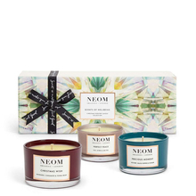 "Coffret Bougies parfumées ""Scents of Wellbeing"" - Neom Organics"