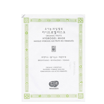 Masque hydrogel Fruits & Aloe vera - Hydratation - Whamisa
