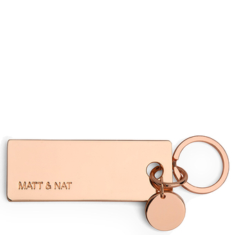 Porte-clés Bene - Rose gold - Matt & Nat