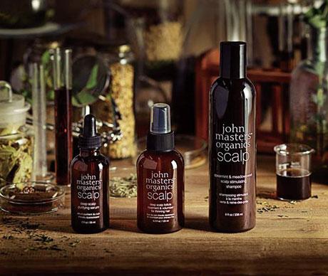 Traitement naturel alopécie et anti chute des cheveux John Masters Organics