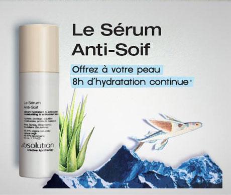 Soin ultra-hydratant bio pour peau très sèche Absolution