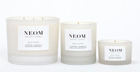 les bougies parfum es bio de luxe neom. Black Bedroom Furniture Sets. Home Design Ideas