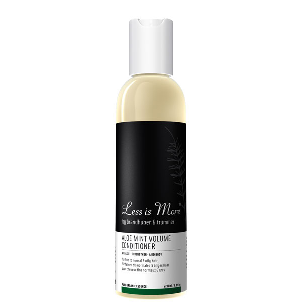 Soin fortifiant aloe & menthe - Less is more