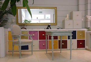 Intérieur de l'institut capillaire de luxe l'Instant 2moss