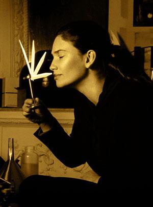 La parfumeuse Olivia Giacobetti est le nez des parfums bio Honoré des Prés
