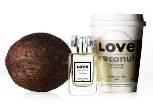 Eau de parfum biologique Love Coconut d'Honoré des Prés