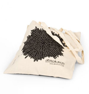 Sac de shopping en coton bio Absolution