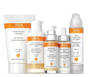 REN radiance natural skincare