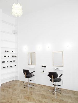 Le salon de coiffure écologique premium Less is More à Vienne