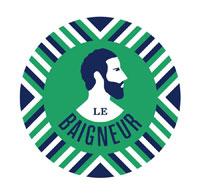 Logo de la marque de savons pour homme Le Baigneur