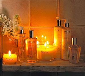 Marque de bougie et soins bio de luxe alliant glamour et formule naturelle