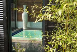 Photo du spa bio Nohèm où sont utilisés les produits de cosmétique du monde de la marque