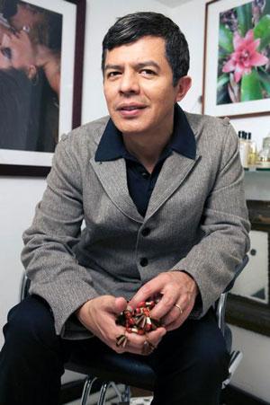 Fabian Lliguin, coiffeur star créateur de la marque de soins capillaires Rahua Amazon Beauty