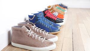 baskets en cuire écologique Veja