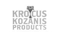 logo de la marque d'infusion bio au safran Krocus Kozanis