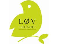 Logo de la marque de thé bio Lov Organic