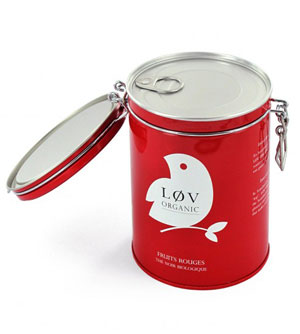 Boîte de thé biologique Lov Organics