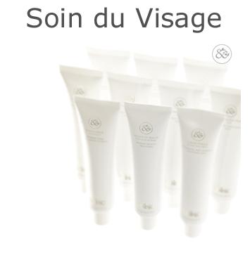 Soins cosmétique de luxe bio pour le visage