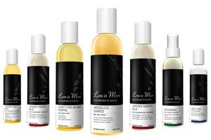 Marque de soins cheveux et shampooing bio Less is More